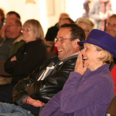 The audience enjoying Keith Donnelly by Meg Hanlon