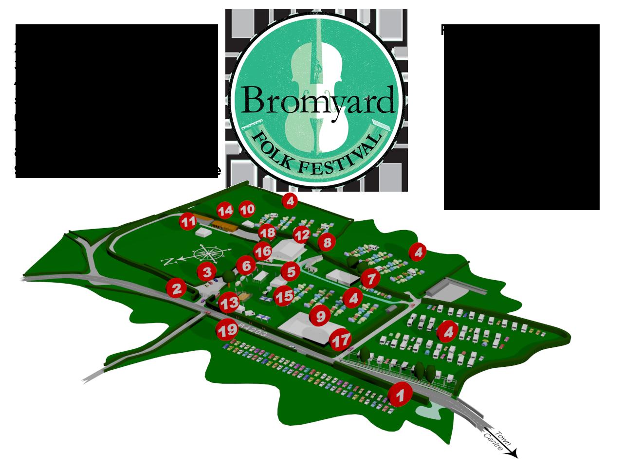 Bromyard Folk Festival Sitemap