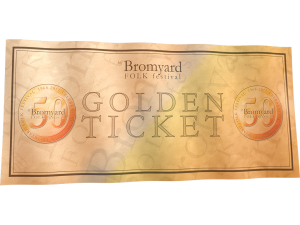 Golden Ticket Bromyard Folk Festival
