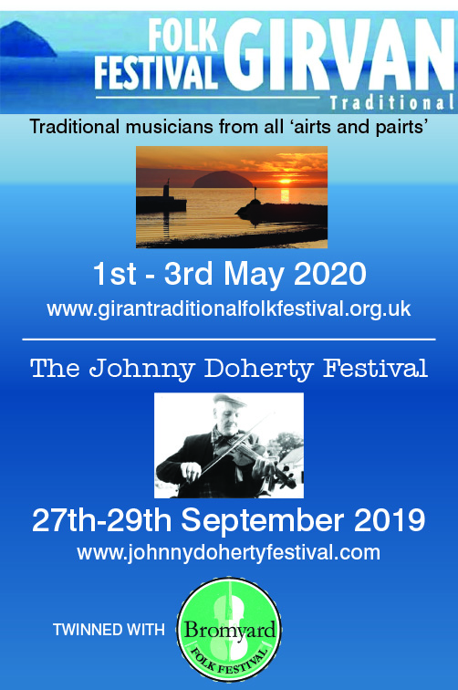 Girvan Folk Festival and Johnny Doherty Festival
